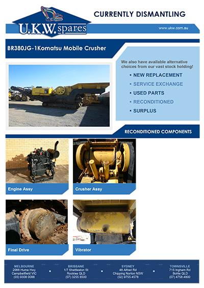 BR380JG-1 Komatsu Mobile Crusher